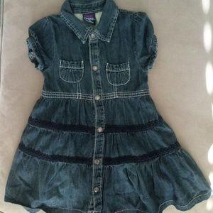 Paper Denim & Cloth 3T denim dress EUC